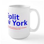 Split New York Large Mug