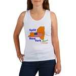 Split New York Women's Tank Top