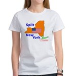 Split New York Women's T-Shirt