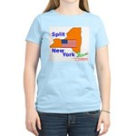 Split New York Women's Light T-Shirt