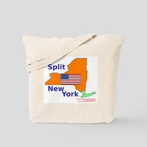 Split New York Tote Bag