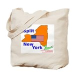 Split New York Tote Bag