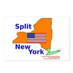 Split New York Postcards (Package of 8)