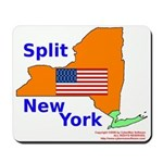 Split New York Mousepad