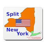 Split New York Mousepad