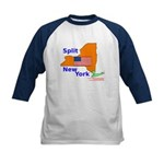 Split New York Kids Baseball Jersey