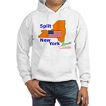 Split New York Hooded Sweatshirt