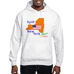 Split New York Hooded Sweatshirt