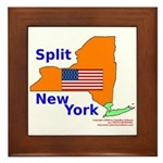 Split New York Framed Tile
