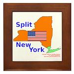 Split New York Framed Tile