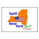 Split New York Banner