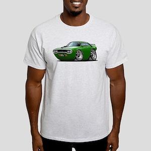 1971-72 Roadrunner Green Car Light T-Shirt