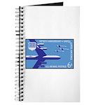 Air Force Stamp Line Art Journal