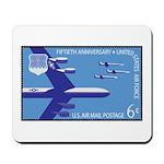 Air Force Stamp Line Art Mousepad