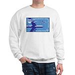 Air Force Stamp Line Art Sweatshirt