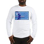 Air Force Stamp Line Art Long Sleeve T-Shirt