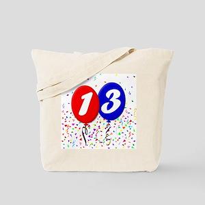 13th Birthday Tote Bag
