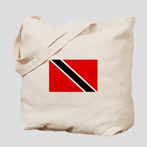 Trinidad and Tobago Flag Tote Bag