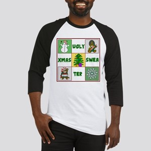 Ugly Christmas Sweater Baseball Jersey
