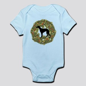 Whippet Xmas Infant Bodysuit