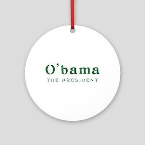 O'bama | The President - Ornament (Round)