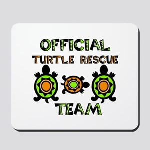 Turtle Rescue Mousepad