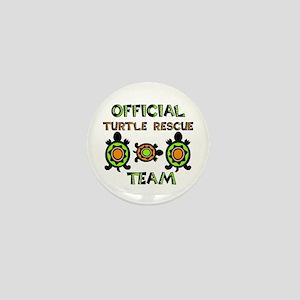 Turtle Rescue Mini Button