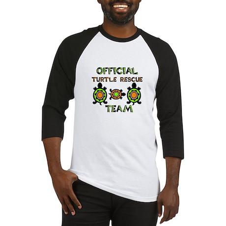 Turtle Rescue Baseball Jersey