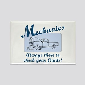 Funny Mechanics Rectangle Magnet