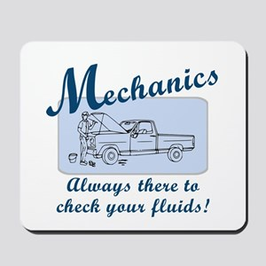 Funny Mechanics Mousepad