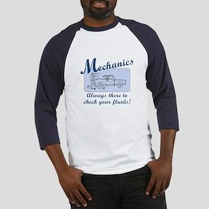 Funny Mechanics Baseball Jersey