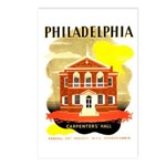 Carpenters Hall Postcards (Package of 8)