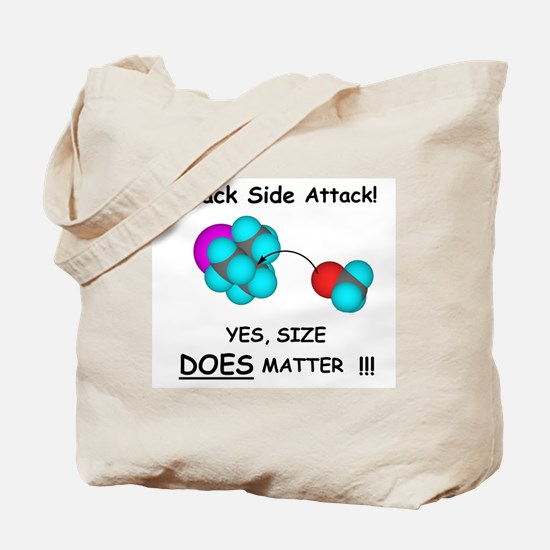 Back Side Attack Tote Bag