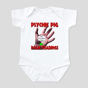 Psychic Pig Palm Readings Infant Bodysuit