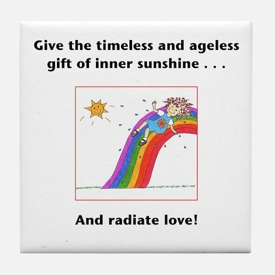 Metaphysical Sunshine Tile Coaster
