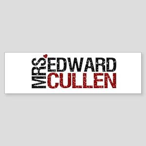 Mrs. Edward Cullen Bumper Sticker