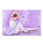 Ballet De Papillon Postcards (Package of 8)