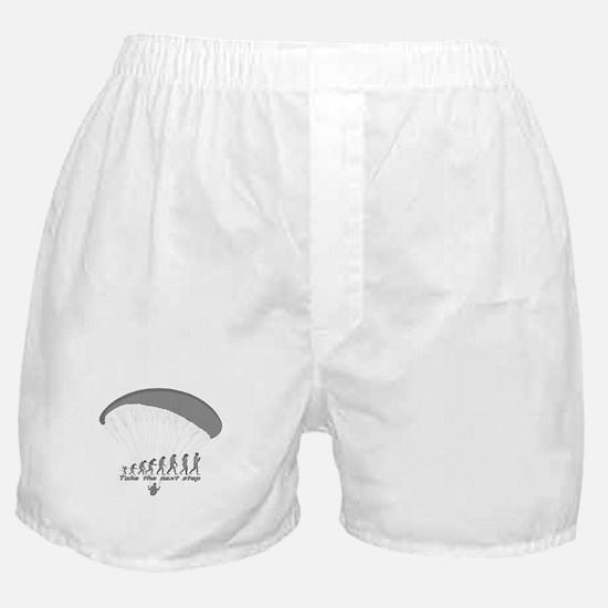 """Paragliding Next Step"" Boxer Shorts"