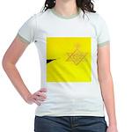 DEC. 5TH DAY#339. FLYING ? Jr. Ringer T-Shirt