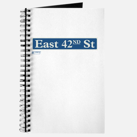 East 42nd Street in NY Journal