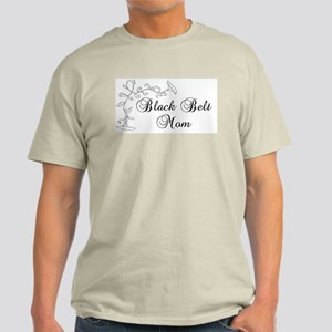 Black Belt Mom Light T-Shirt