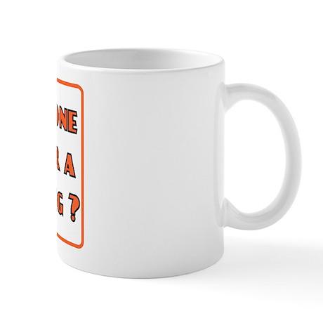 funny fisting retro Mug