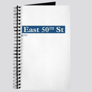 East 50th Street in NY Journal