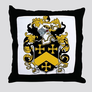 Fordham Coat of Arms Throw Pillow