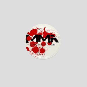MMA Blood Splatter 01 Mini Button