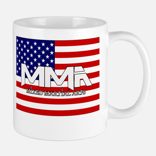 MMA USA White Text Mug