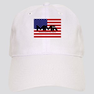 MMA USA Black Text Cap