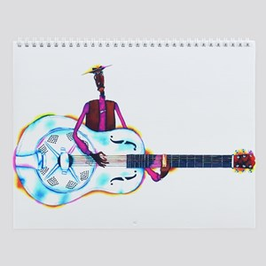 MUSIC & MOTORCYCLES Wall Calendar