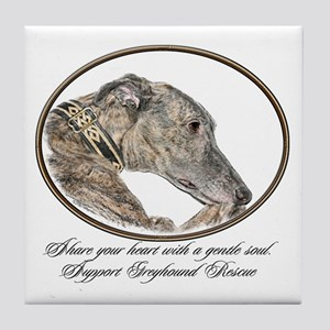 Greyhound Tile Coaster