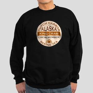Dutch Harbor Bering Sea Crab Fishing Sweatshirt (d